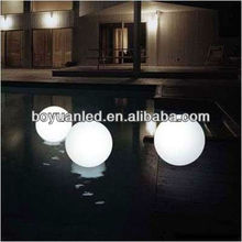 led light magic spinning ball/led illuminating ball outdoor ball light