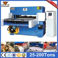 self-balancing automatic bra cup packing cutting press machine