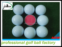 2015 Best Selling three piece tournment golf ball(hardness golf ball)