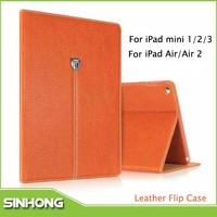 New Products 2015 XUNDD PU Stand Case For Apple iPad Air
