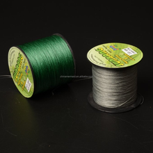 Super quality & service extremely strong 8 strands braided fishing line colorful