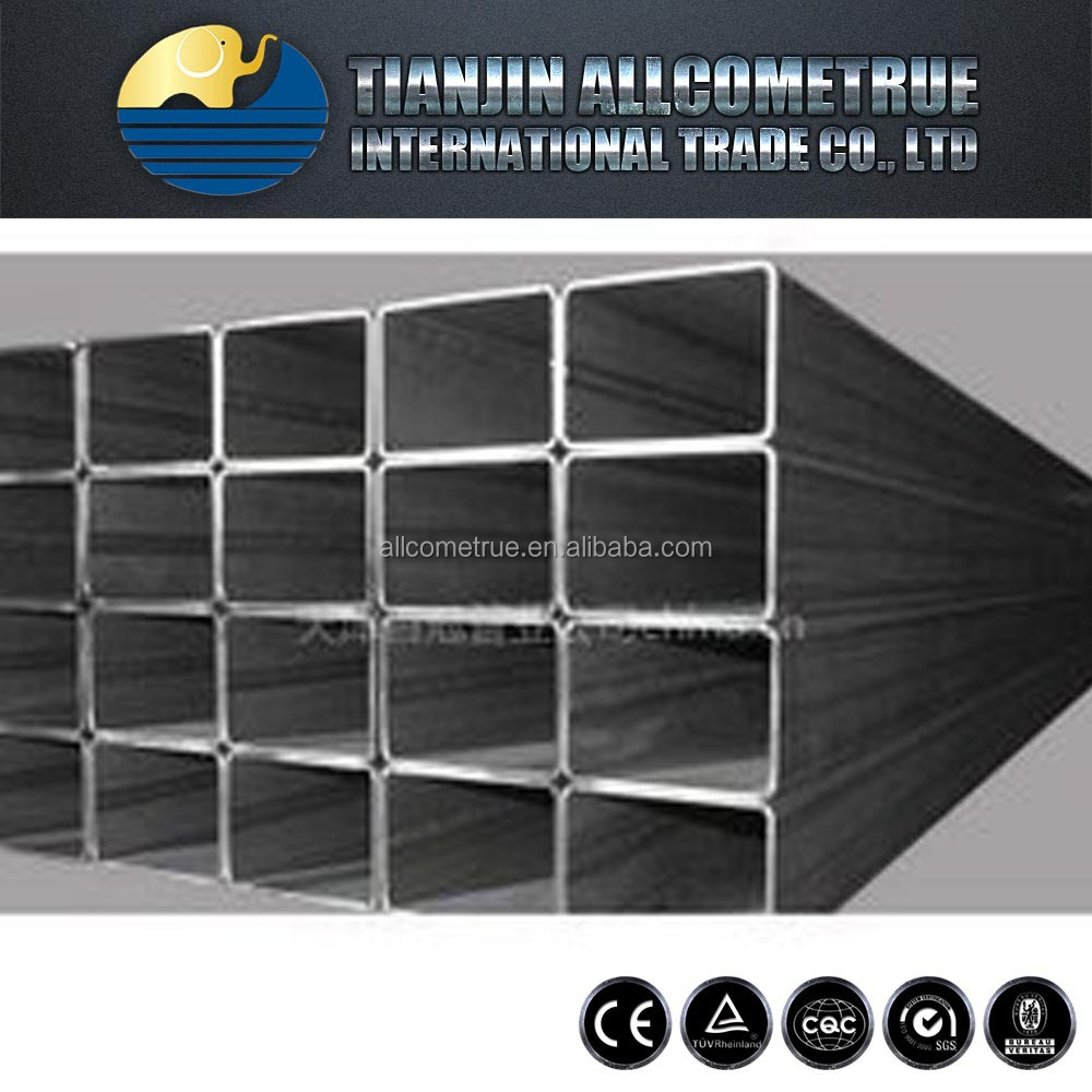 .Tianjin square rectangular pipe ! structural square steel tube good products hollow steel price