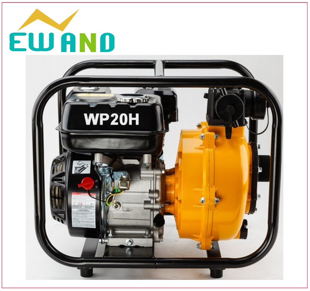 high pressure centrifugal electric start gas small petrol water pump plastic air pressure tank