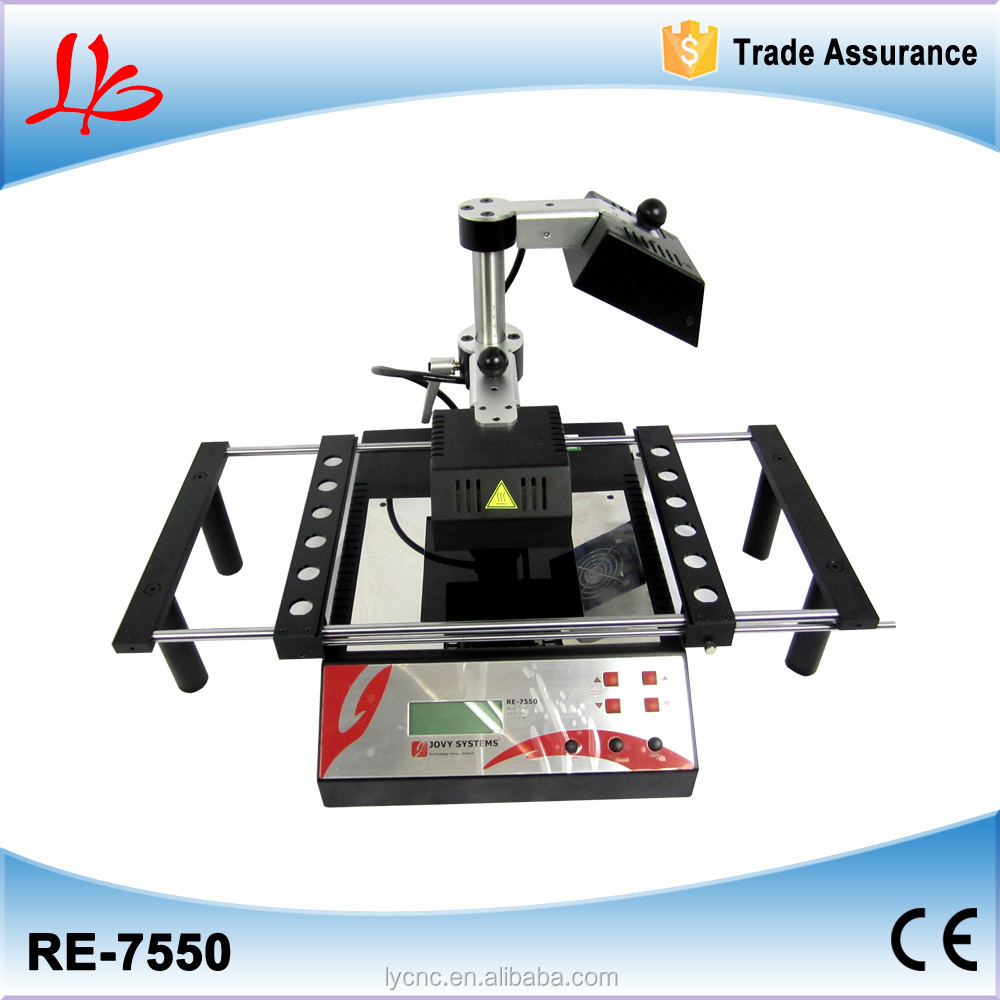 BGA Jovy RE7500 rework machine suitable for lead free with infrared glass