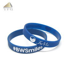 wholesale logo custom anti mosquito silicone wristband