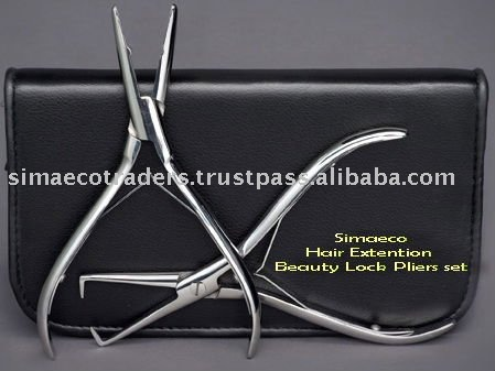 Hair Extention Beauty Lock Pliers set