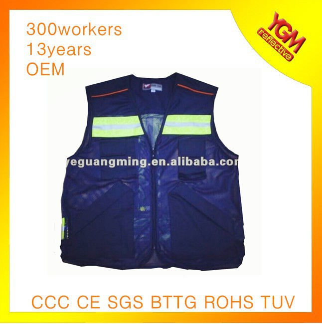 working wear high reflective safety vest
