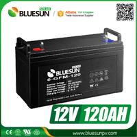 UPS Usage and Free Maintenance Type solar battery 200 ah