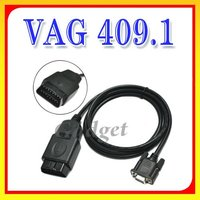Cheapest OBD OBDII COM KKL VAG 409.1OBD2 for VW for AUDI Diagnostic Scanner