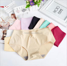 Fashion Design Underwear M L Sizes Ice Silk Booty Shorts women Underwear