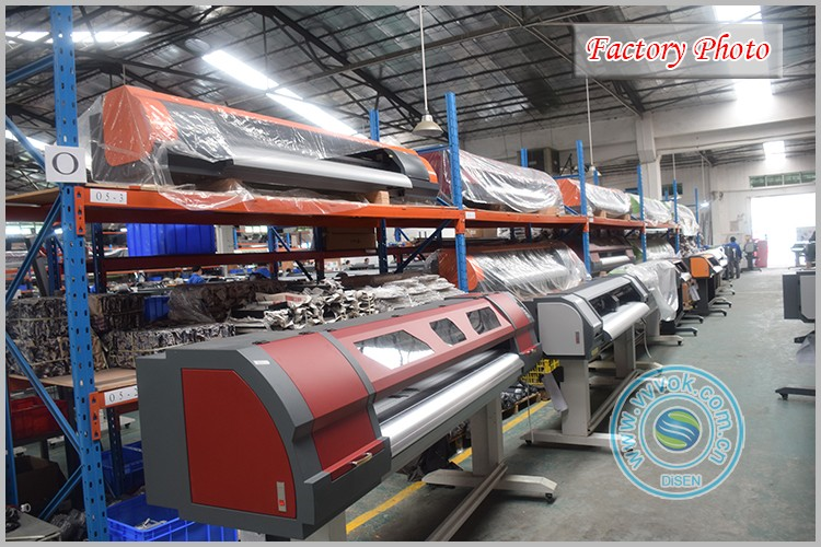China industrial direct inkjet sublimation textile fabric clothes printing photo machine cheap digital textile printer price