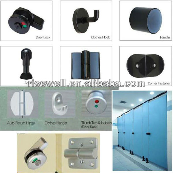 Bathroom Toilet partition hardware