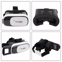 vr box 3.0 google cardboard 3d glasses For Android and ios smart phones