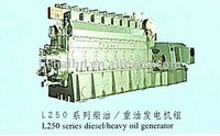 L250 series heavy oil generating sets
