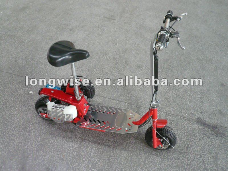 gas scooter moped(49cc, 2 strokes), factory supplier