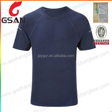Custom blank dri fit compression running t shirt