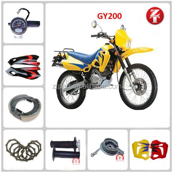 China Wholesale Replacement GY200 Motorcycle Parts