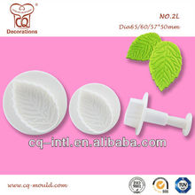 Factory Wholesale Sugarcraft Rose Plunger Cutters