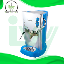 single cup cappuccino and espresso making machine and e.s.e pod