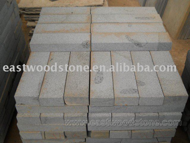 marvelous grey lava stone brick paving