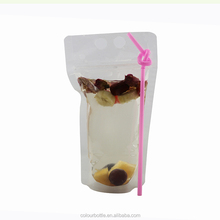 Food grade plastic soft drinks packing bags
