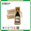 High Quality Modern New Design Large leather wine storage box portable wood wine box/Wooden wine boxs/wooden wine crates