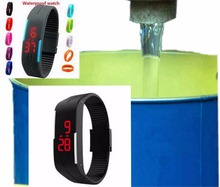 Specialty supply custom silicone sport watches/silicone bracelets watches raw and processed materials