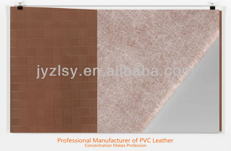 Vacumm Embossed PVC Faux Leather