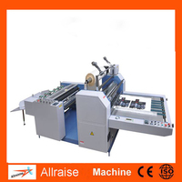 Semi-auto laminating machine/Pre-glued and Glueless Film Laminator