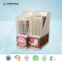 High quality Cheapest popular printing cardboard cupcake box