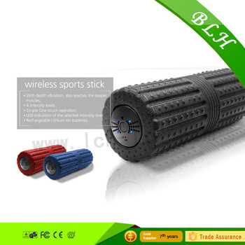 2017 fashional Yoga training fitness gym vibration roller new design released high quality EPP foam roller