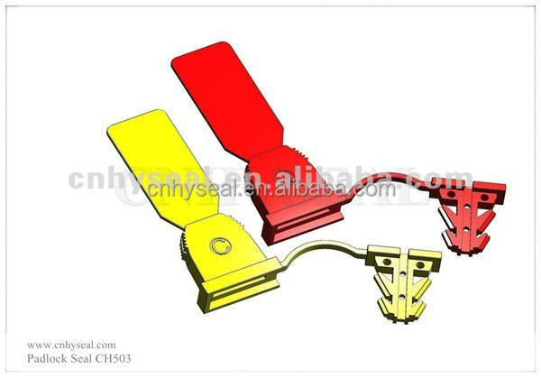 CH503 Top quality New plastic padlock seals