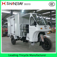 Refrigerated Trike Chopper Three wheel electric motor Bike Motorcycle Tricycle