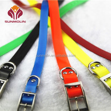 Pet product S / M / L tpu coated dog collar necklace