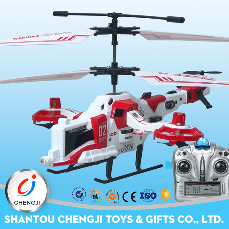 Hot selling new four channel remote control helicopters toy for adult
