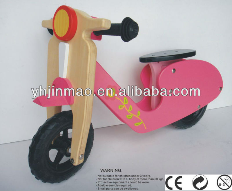 2015 popular wooden self balancing scooter for baby