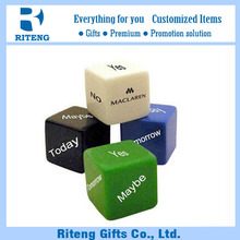 Custom 6 Sides Printing Names Letter Dice