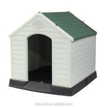 Plastic Outdoor Large Dog Kennel House Roof Frame Building