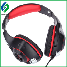 2017 free sample shipping professional AAA Quality big Over-ear Gaming Headset Stereo Bass Headband Headphone with micrphone