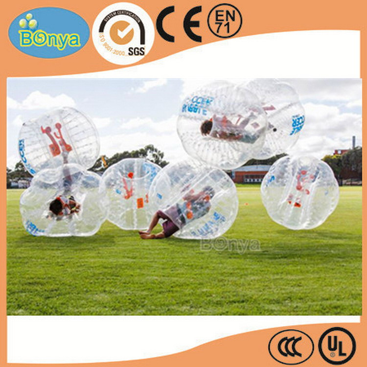 New arrival promotional bumper ball soccer/football bubble