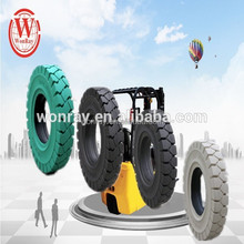 electric forklift car replace used tyre with solid tire 6.50-10