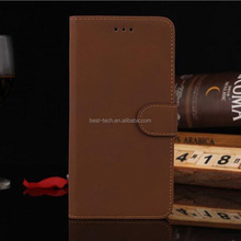 Wholesale Wallet Stand Leather Retro PU Case For iPhone 7 7Plus 6 6S