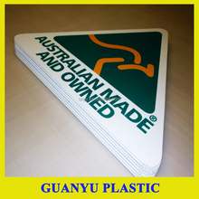 Outdoor UV Protection PP Plastic Coroplast Lawn Signs