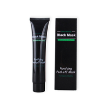 Bamboo charcoal blackhead black mask facial peeling black mask