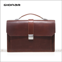 China Factory Wholesale Fashion Briefcase Low Price Men Leather Shoulder Bag Men's Shoulder Bag