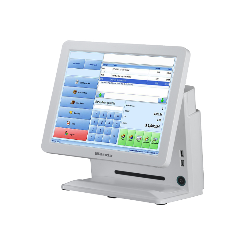 Portable Bluetooth Printer Pos System all in one pos terminal