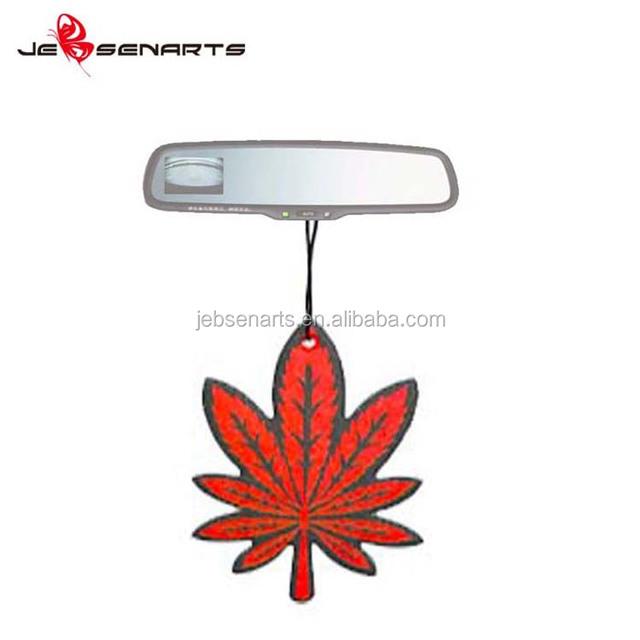 Paper Fragrance Card Hanging Car Perfume Custom Air Freshener