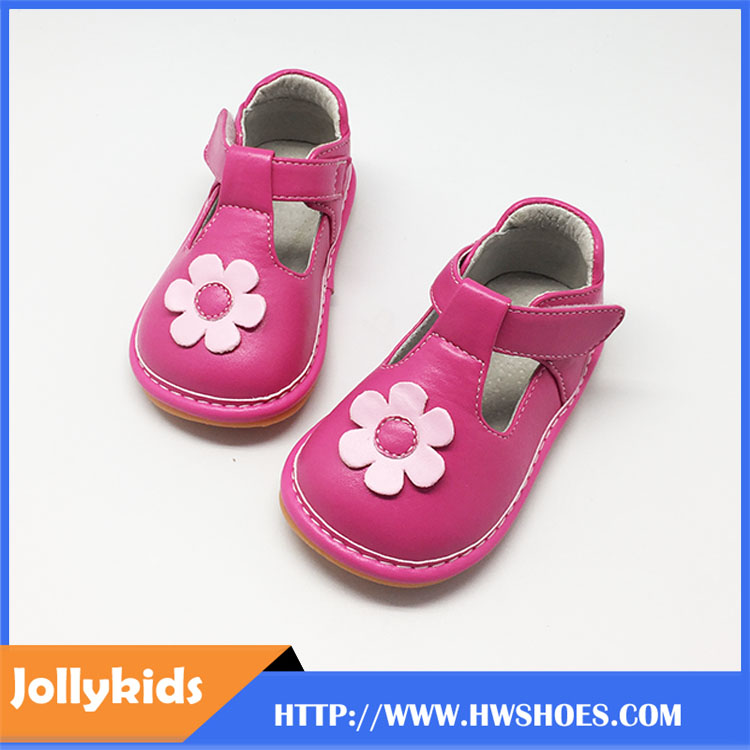 Newly Girls Mary Jane Squeaky Shoes For Toddlers