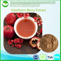 factory supply pure natural hawthorn berry extract