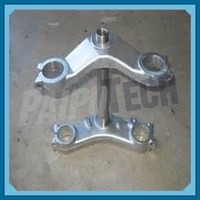 Forged Motorcycle Metal Bottom Triple Clamps